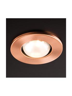 Zápustné - podhľadové svietidlo REDO FR 39 COPPER E14 30W 70219