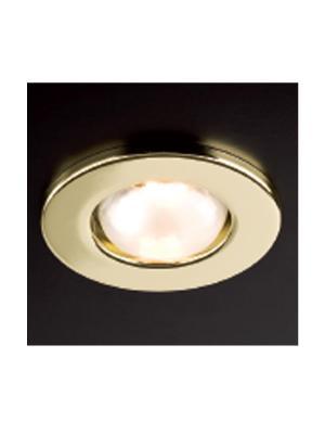 Zápustné - podhľadové svietidlo REDO FR 50 ZLATÁ E14 46W 70050