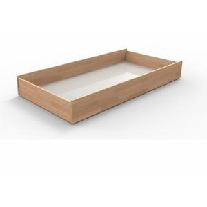 Zásuvky pod posteľ 3/4 Veľkosť: 170 x 120 cm, Materiál: BUK morenie orech