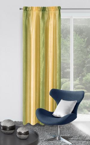 Záves 135x250 cm - Eurofirany - Tecza (žltá + zelená). Akcia -11%. Sme autorizovaný predajca Eurofirany.