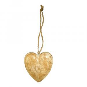 Závesná dekorácia v tvare srdca Antic Line Light3