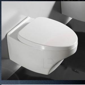 Závesné WC YACHT so sedákom, oblé so zrezanou prednou stranou