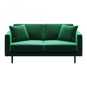 Zelená dvojmiestna pohovka MESONICA Kobo