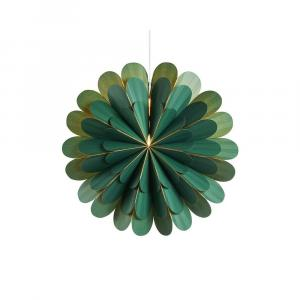 Zelená svetelná dekorácia Markslöjd Marigold, výška 45 cm