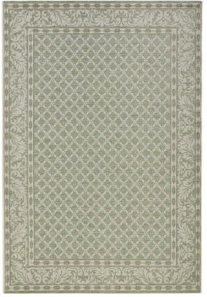 Zeleno-krémový vonkajší koberec Bougari Royal, 160 x 230 cm