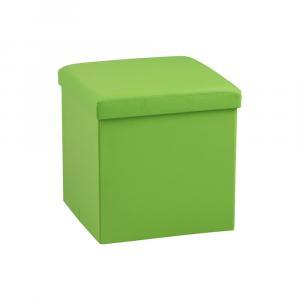 Zelený puf s úložným priestorom Actona Sada