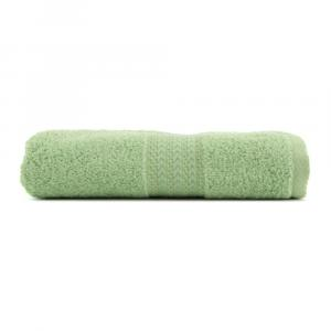 Zelený uterák z čistej bavlny Sunny, 50 × 90 cm