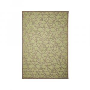 Zelený vonkajší koberec Floorita Fiore, 160×230 cm