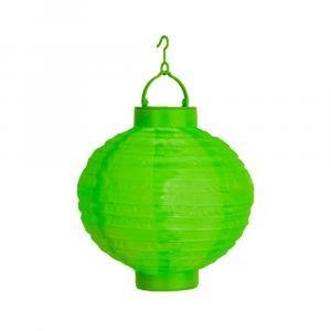Zelený vonkajší solárny LED lampión Best Season Summer, ø 30 cm