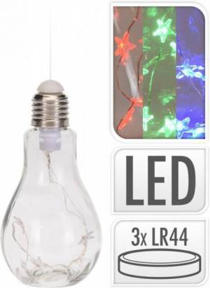 Žiarovka LED 14 cm farebná