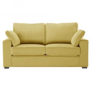 Žltá rozkladacia pohovka Jalouse Maison Serena