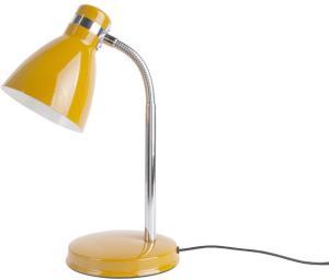 Žltá stolová lampa Leitmotiv Study