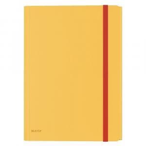 Žlté kancelárske dosky Leitz Cosy, A4