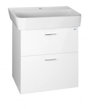 Zoja 56378 umývadlová skrinka zásuvková 56x50x35,6 cm, biela