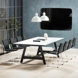 Zostava konferenčného nábytku: Stôl Nomad + 8 stoličiek Ottawa
