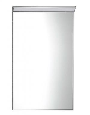 Zrkadlo BORA , s LED osvetlením ,chrom, 40, 50, 60 - 50x70