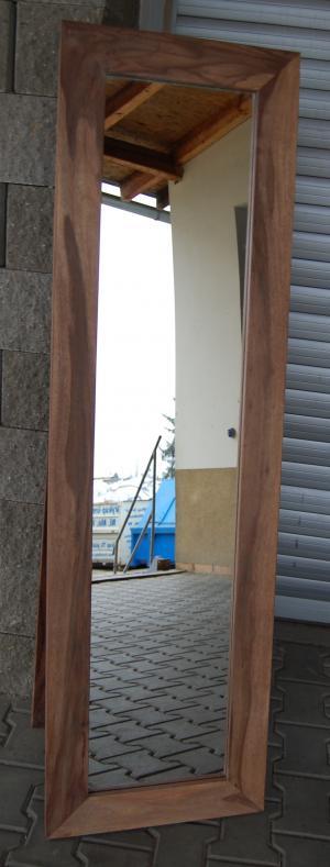 Zrkadlo Gani 60x170x2,5 indický masív palisander - Only stain