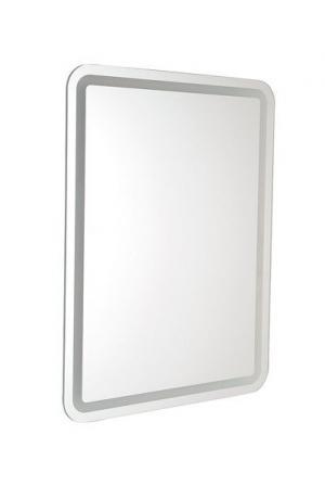Zrkadlo hranaté NYX s led osvetlením - 50x70