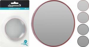 Zrkadlo kozmetické okrúhle 87mm, mix farieb