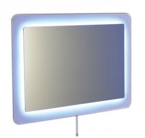Zrkadlo LORDE s LED osvetlením,  90 x 60