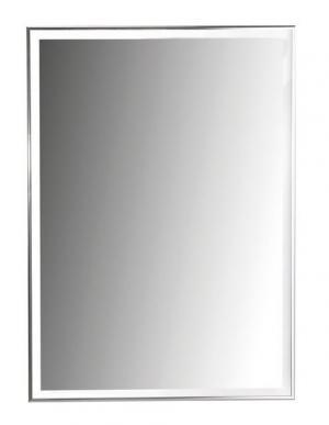 Zrkadlo LUMINAR s LED osvetlením v hliníkovom ráme - 60x80