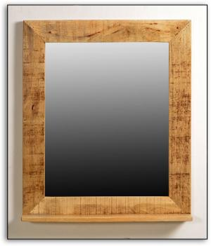 Zrkadlo RUSTIC – 67 × 12 × 80 cm