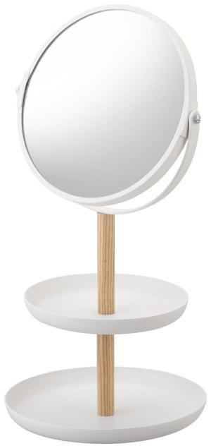 Zrkadlo s miskami Yamazaki Tosca, biele