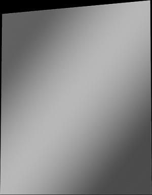 ZrkadloTANJA na ráme600x700 - OsvetlenieLED Lucius 500, chróm, LED