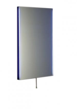 Zrkadlo TOLOSA s led osvetlením, v hliníkovom ráme 50 , 60 cm - 50x80