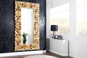 Zrkadlo Veneto zlaté Antik 180cm