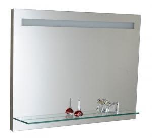 Zrkadlo VERA 80 , 100 s policou a led osvetlením - 60x100