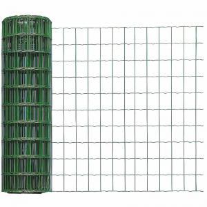 Zvárané pletivo 0,5 x 5 m zelené