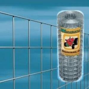 Zvárané pletivo pozinkované - AGRISALD(Cavatorta) Veľkosť oka: 25,4 x 25,4 mm, Sila drôtu: 1,80 mm