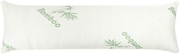 4home Relaxačný vankúš Náhradný manžel z pamäťovej peny Bamboo, 45 x 120 cm , 45 x 120 cm
