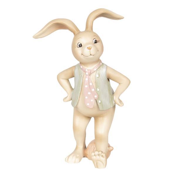 Dekorácie králičie chlapec - 9 * 7 * 15 cm