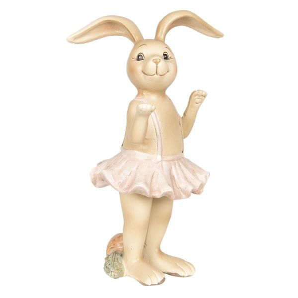 Dekorácie králičie dievča v sukienke - 7 * 6 * 14 cm