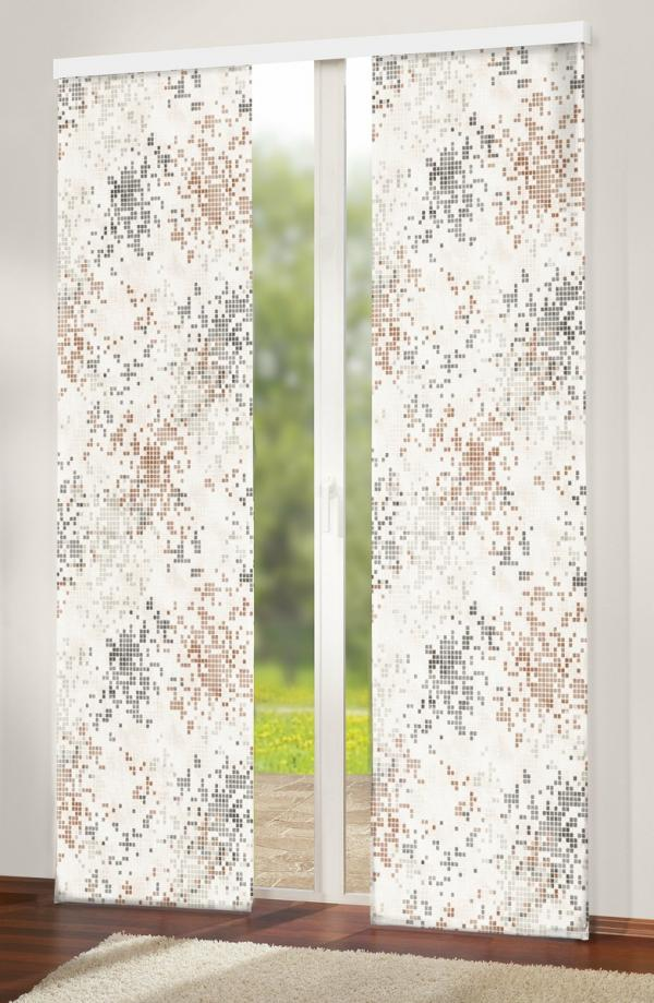 Forbyt Japonská stena Grain hnedá 50 x 245 cm