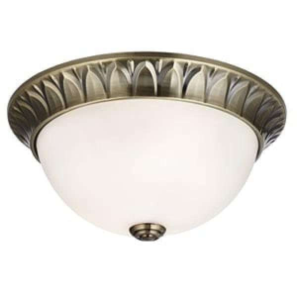 Interierové rustikálne svietidlo SearchLight FLUSH   4148-28AB