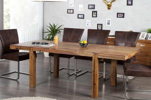 Jedálenský stôl z masívu rozkladací Las Palmas 120-200cm