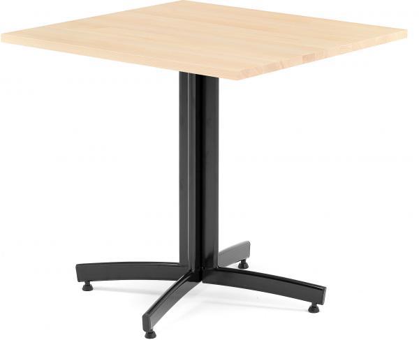 Kaviarenský stôl Sally, 700x700x720, buk, čierna
