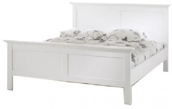 KONDELA Paris 76703 180 manželská posteľ biela