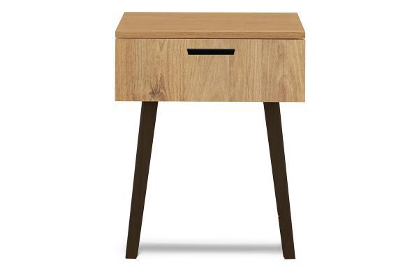 KONSIMO Nočný stolík FRISK zásuvka dub 48 x 60 x 46 cm