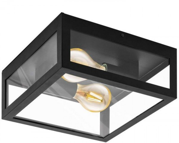 Kúpeľňové svietidlo EGLO  AMEZOLA 2x40W čierna 99122