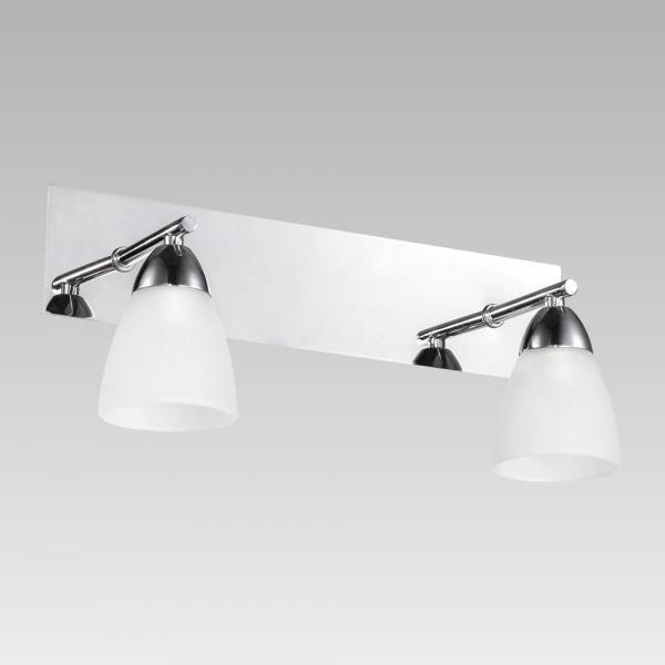 Kúpeľňové svietidlo PREZENT ENORA  CHROME WHITE 65018
