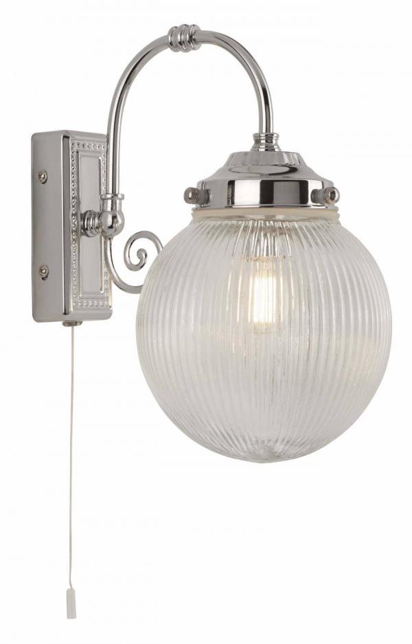 Kúpeľňové svietidlo SearchLight BELVUE CHROME 3259CC