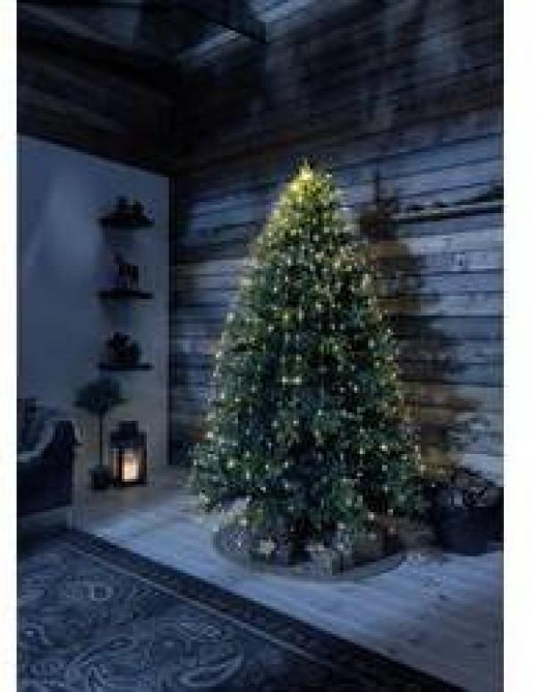 LED LED svetelný plášť na vianočný stromček Konstsmide 6379-890, kvapka, vnútorné 6379-890, 230 V, N/A