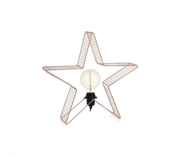 Markslöjd 703928 - Stolná lampa HOLGER 1xE27/40W/230V