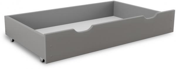Maxi Drew Úložný box pod posteľ 200 cm, sivý