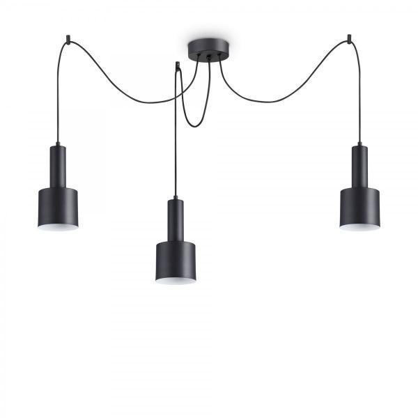 Moderné svietidlo IDEAL LUX HOLLY SP3 NERO 231594