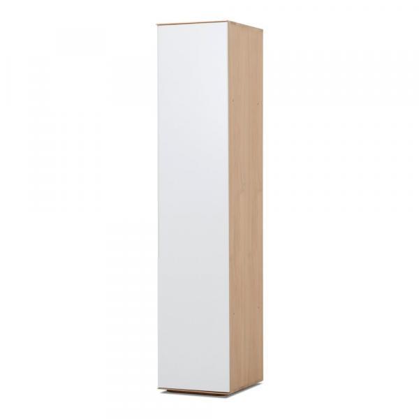 Modulový diel skrine s konštrukciou z masívneho dubového dreva s 5 policami Gazzda Ena